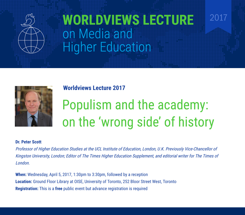 Worldview Lecture